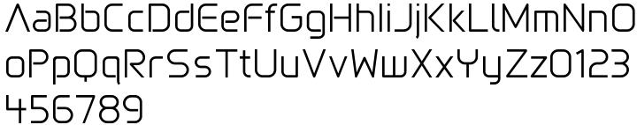 Gia™ Font Sample