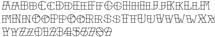 Sailors Tattoo Pro Font Sample