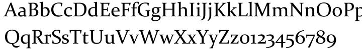 Constantia® Font Sample