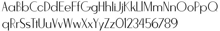 Stylette JNL Font Sample
