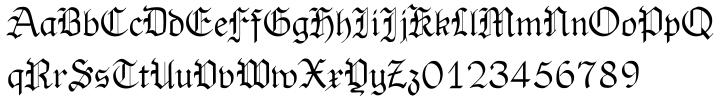 OldHaroldRee™ Font Sample