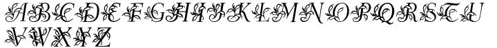Egmontian Font Sample