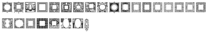 Intellecta Square Font Sample