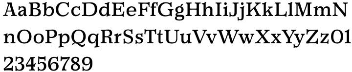 Churchward Newstype™ Font Sample