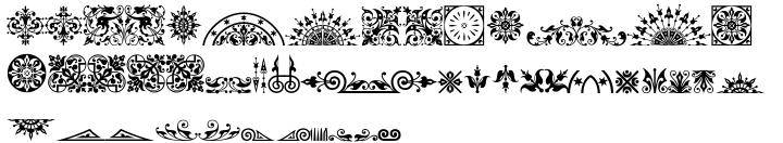 Ornata A™ Font Sample