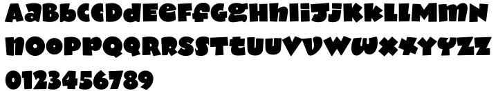 Notebook BH™ Font Sample
