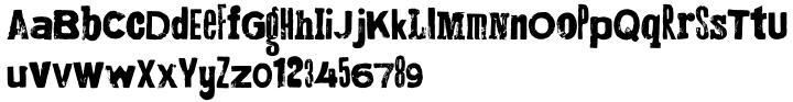 Montada Font Sample