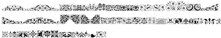 Ornata B™ Font Sample