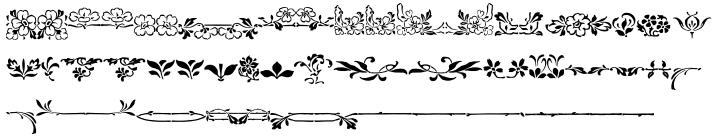 Ornata E™ Font Sample
