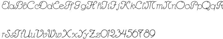 Hannover Font Sample