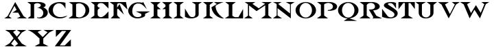 Hoxie JNL Font Sample