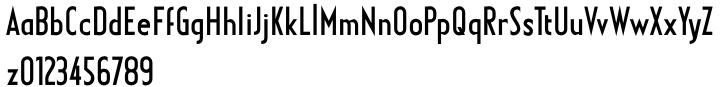 Earthman BB™ Font Sample