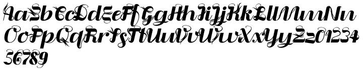 Liquoia Font Sample