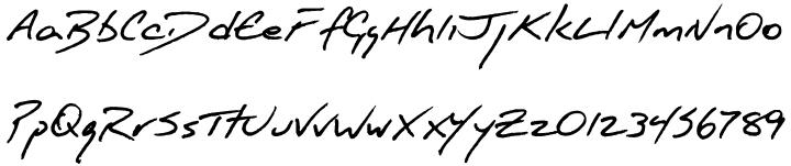 FG Jason Font Sample