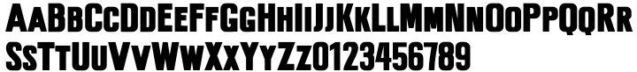 Phoebus Palast™ Font Sample
