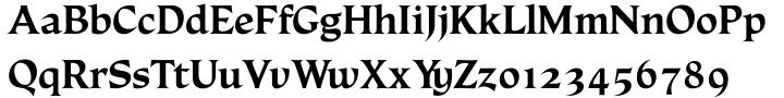 Rudolph Font Sample