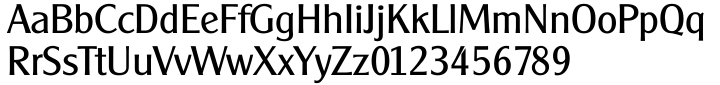 Clear Gothic Serial Font Sample