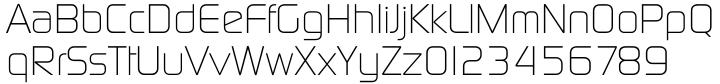 Digital Serial Font Sample