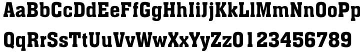 Aachen Font Sample