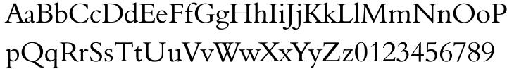 Aldine 401 Font Sample