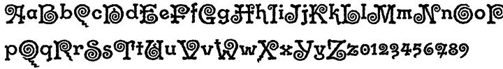 ITC Gramophone™ Font Sample