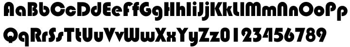 Blippo Font Sample