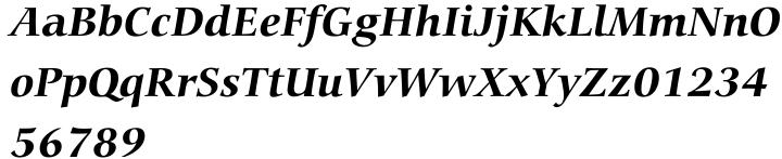 Carmina Font Sample