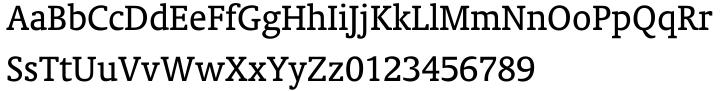 Oranda Font Sample