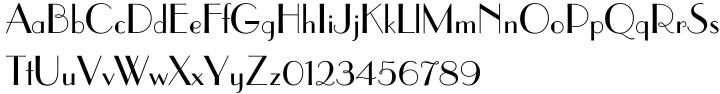 Parisian™ Font Sample
