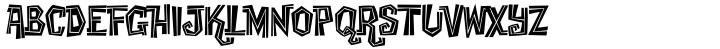 Creaky Tiki™ Font Sample