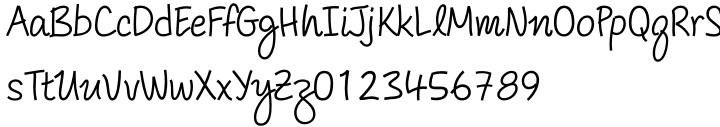 Salonika Font Sample