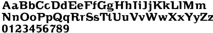 Random Font Sample