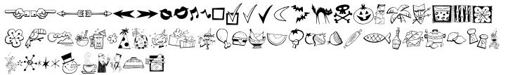 Derekbats™ Font Sample