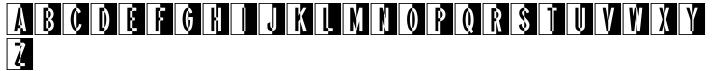 Pocket Initials JNL Font Sample