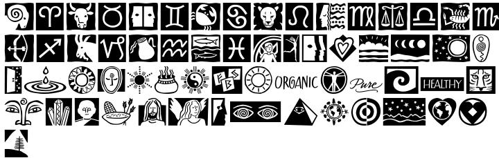 ITC Holistics™ Font Sample