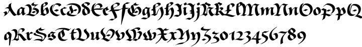 Givry Font Sample