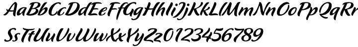 Flavour Font Sample