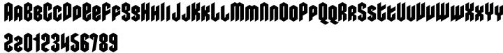 Metalista Font Sample