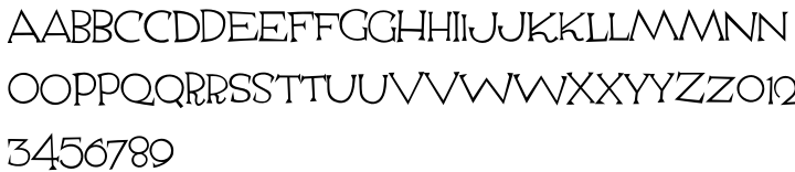 Escoffier Capitaux™ Font Sample