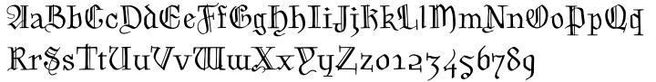 Grimm™ Font Sample