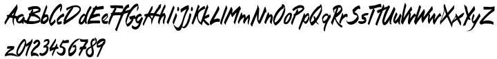 Isara Font Sample