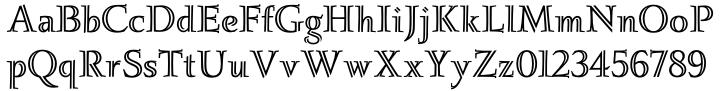 Ignatius™ Font Sample