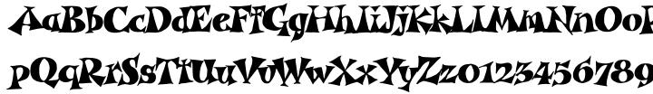 Garash Script™ Font Sample
