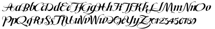 Maeva Font Sample