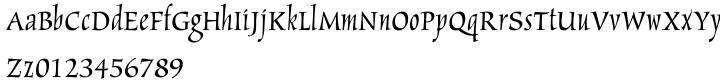New Marigold™ Font Sample