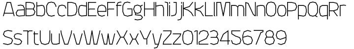 Attac Font Sample