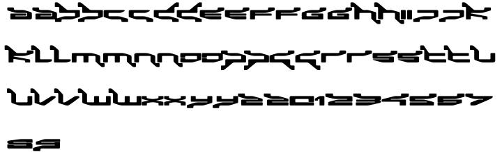 Panic Font Sample
