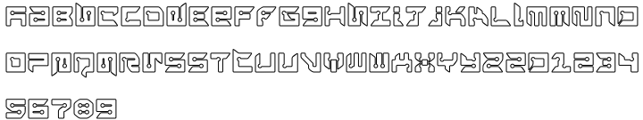 Rayzor Font Sample