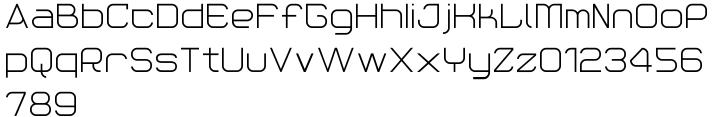 Reaction Font Sample