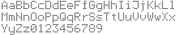 AF Cashier Font Sample